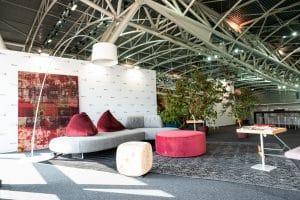 ambiente di Format progetti abitativi Salone Internazionale del Libro di Torino